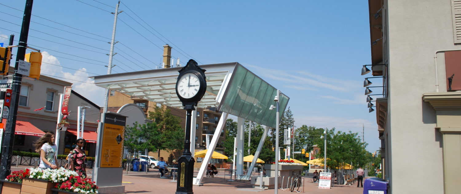 Redeveloped Streetsville Square Best areas in Mississauga