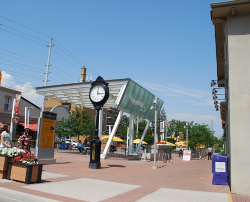 Redeveloped Streetsville Square