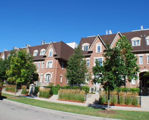 Stacked Town Homes in Cooksville