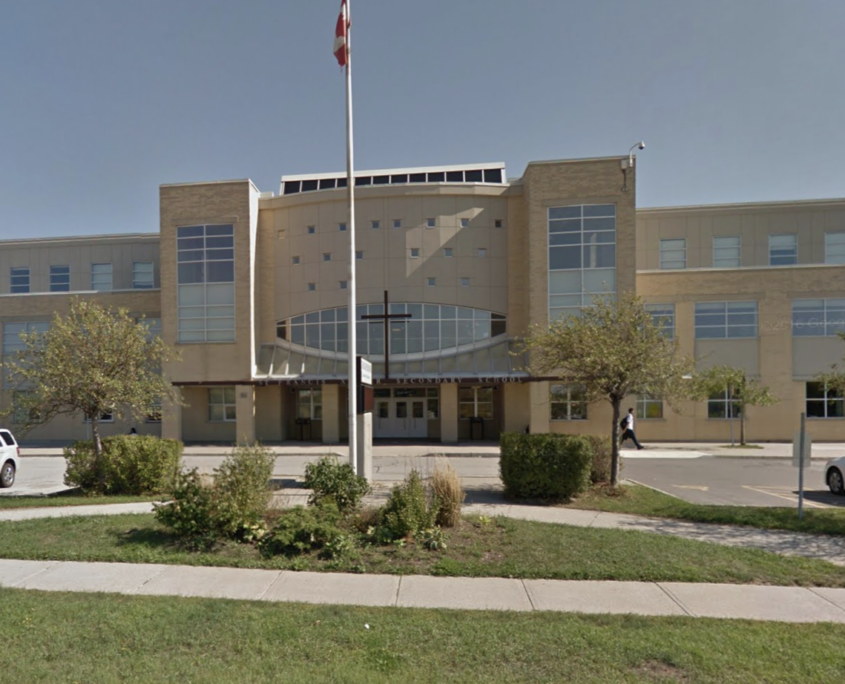 St Francis Xavier is one of the one of the top high schools in Mississauga