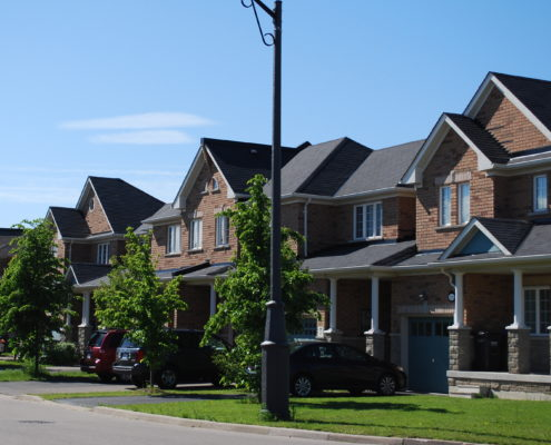 Town Houses in Churchill Meadows