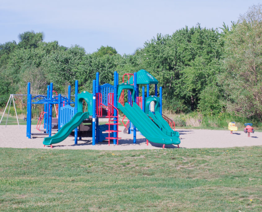 Childrens play ground at Erindale Park in Mississauga