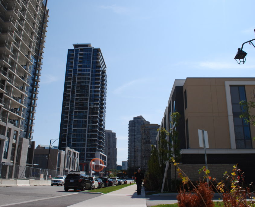 New Pinnacle condos at Hurontario and Eglinton in Mississauga