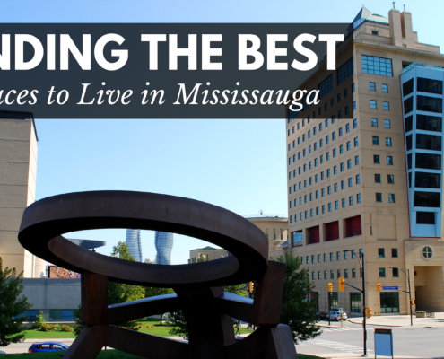 Articel about finding the best neighbourhoods in Mississauga