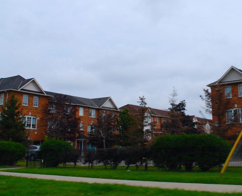 Townhouses in Hurontario Missisauga