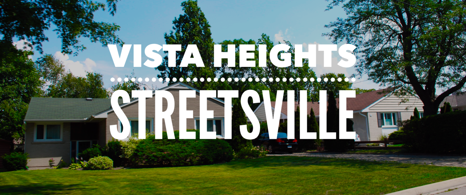 Vista Heights Neighbourhood in Streetsville Mississauga
