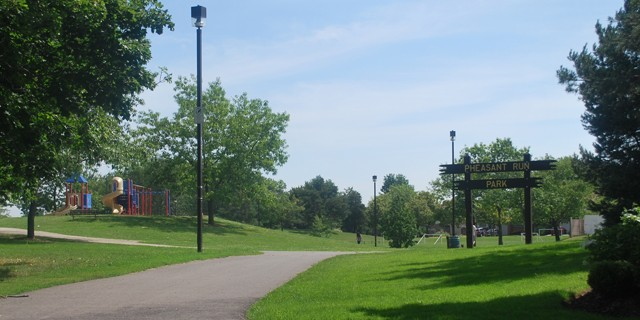 Pheasant Run Park entrance