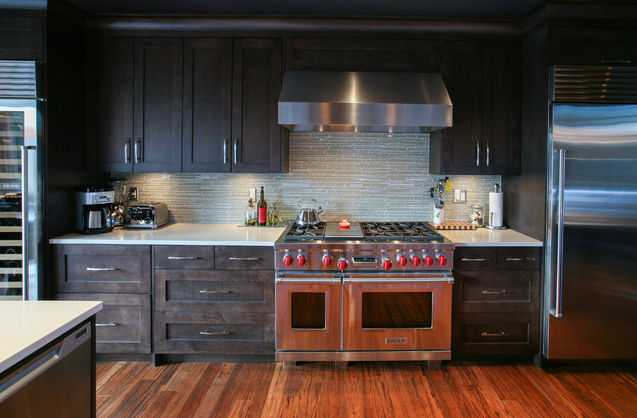High end buyers are not only looking at finishes, but they also look at other factors such as professional grade appliances. Photo courtesy of Houzz http://www.houzz.com/photos/2876992/Spectacular-Home-for-Entertaining-contemporary-kitchen-vancouver
