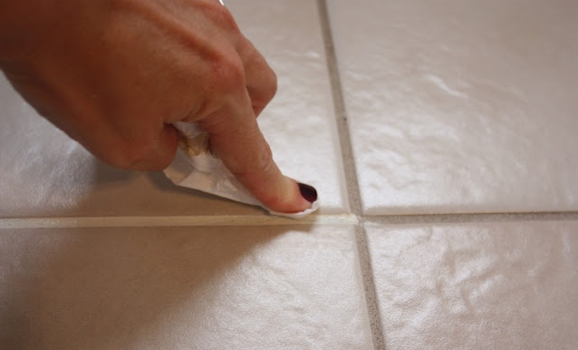Cleaning your grout to make it look new again is an easy weekend DIY project