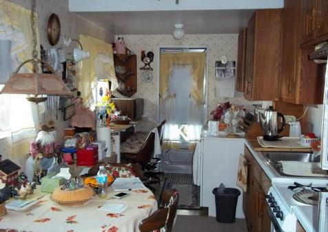 Disorganized Kitchen Table