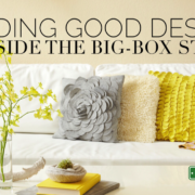 Article about finding design outside the big box store