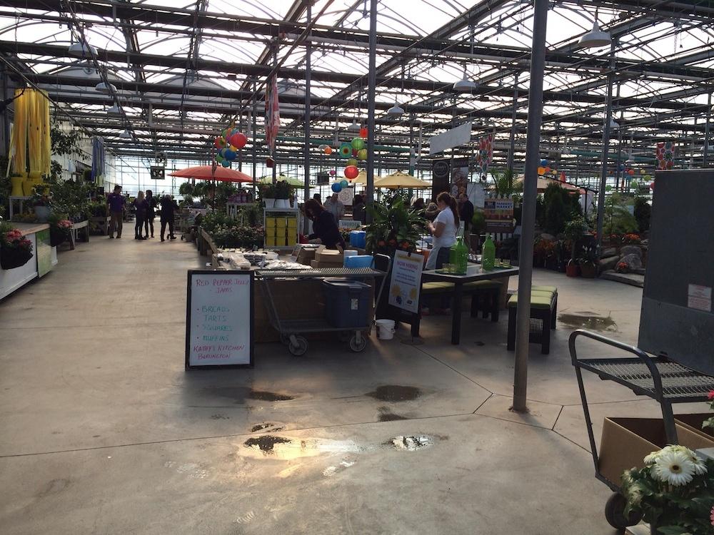 The Winter Farmers Market at Terra Garden Centre in Milton runs Saturdays until April 5th 2014