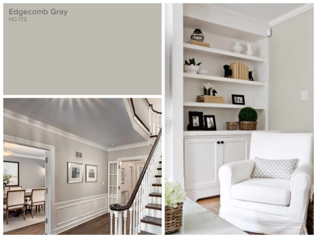 Top 10 Paint Colours Edgecomb Gray