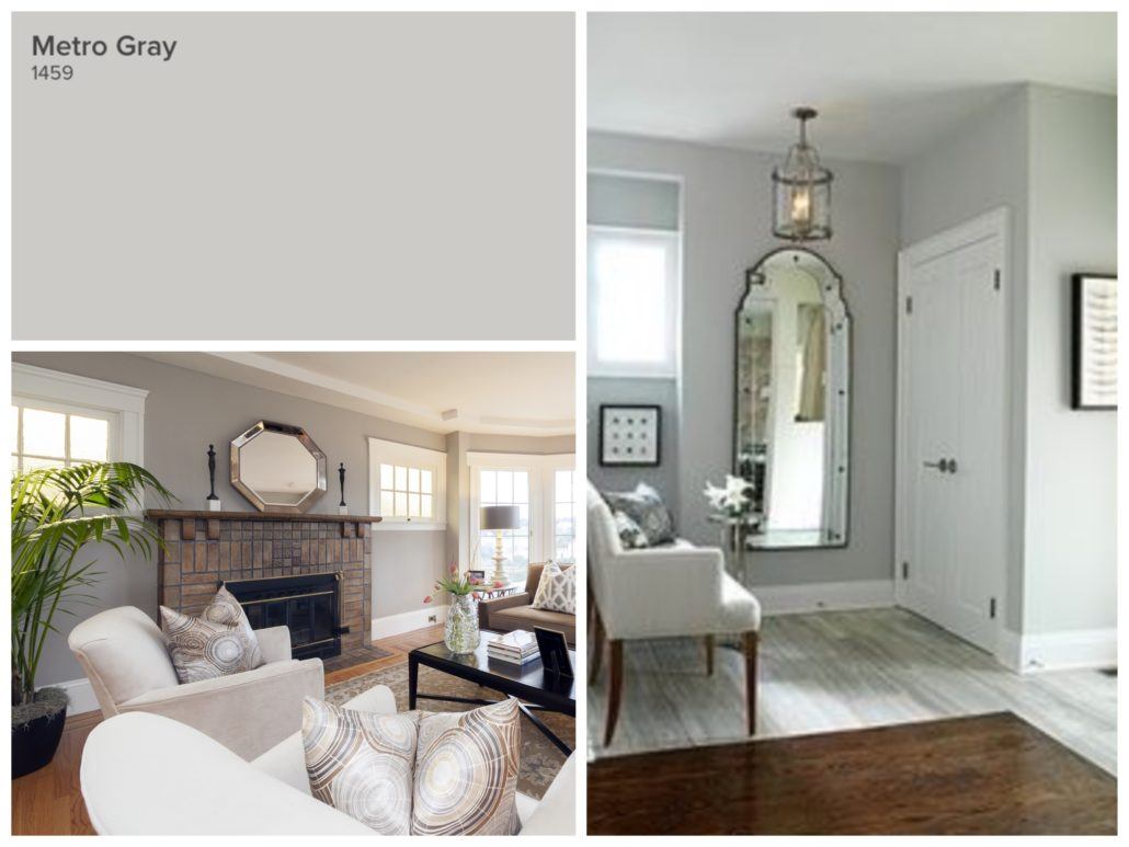 Top 10 Paint Colours Metro Gray
