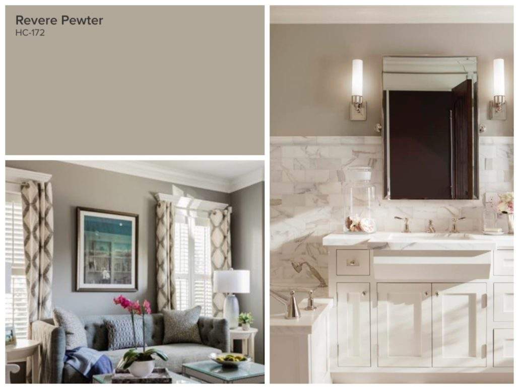 Top 10 Paint Colours Revere Pewter
