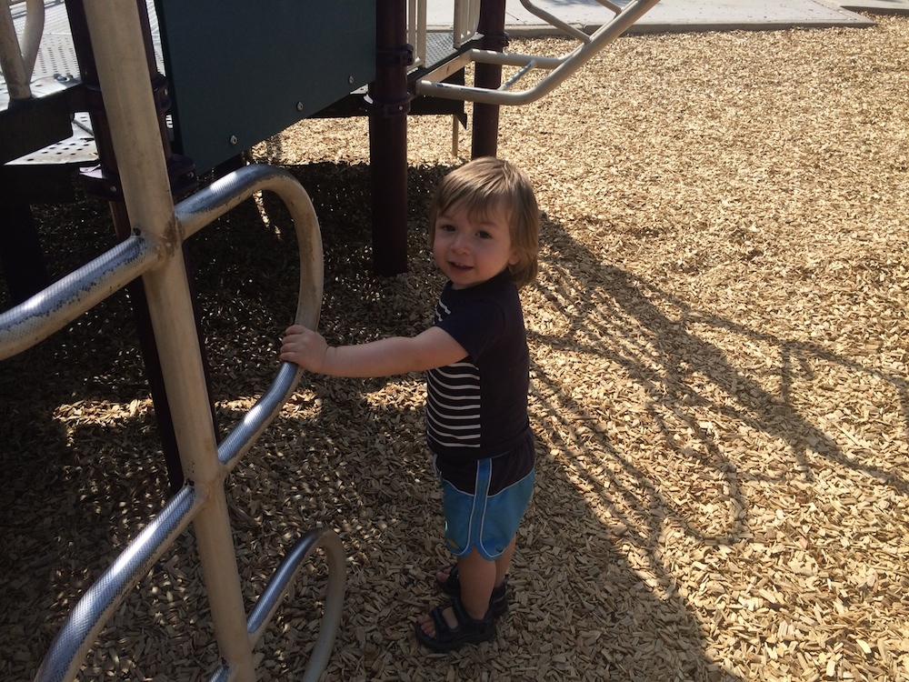 My youngest absolutely LOVES the playground at Coronation Park
