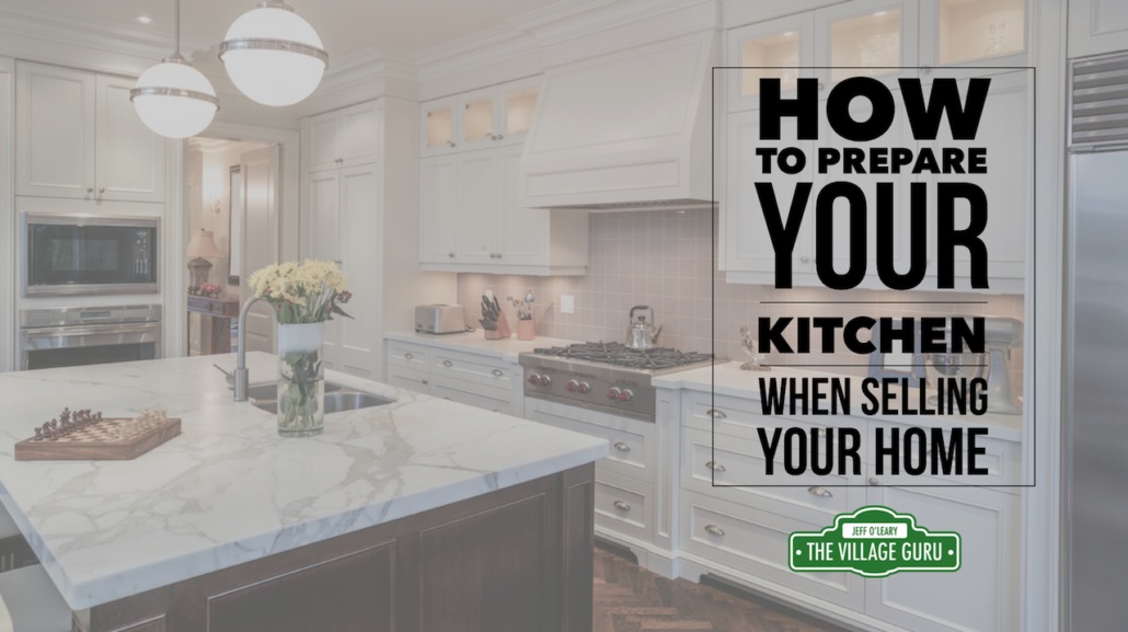 Prepair your kitchen when selling your home