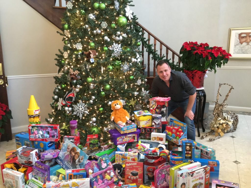 Thanks to everyone who attended, we are well on our way to collecting 200 toys for this year's #toysfortots drive.