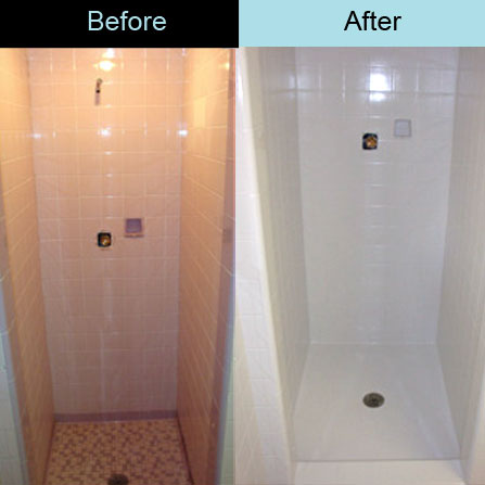 How to ensure buyers love your bathrooms the village guru for Painting bathroom tile before and after