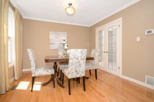 Erin Mills Dining Room After Kitchen Remodel