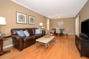 Erin Mills Living Room 2 After Kitchen Remodel