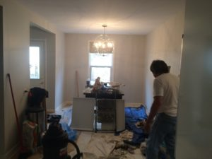 erin mills kitchen remodel 2 in progress