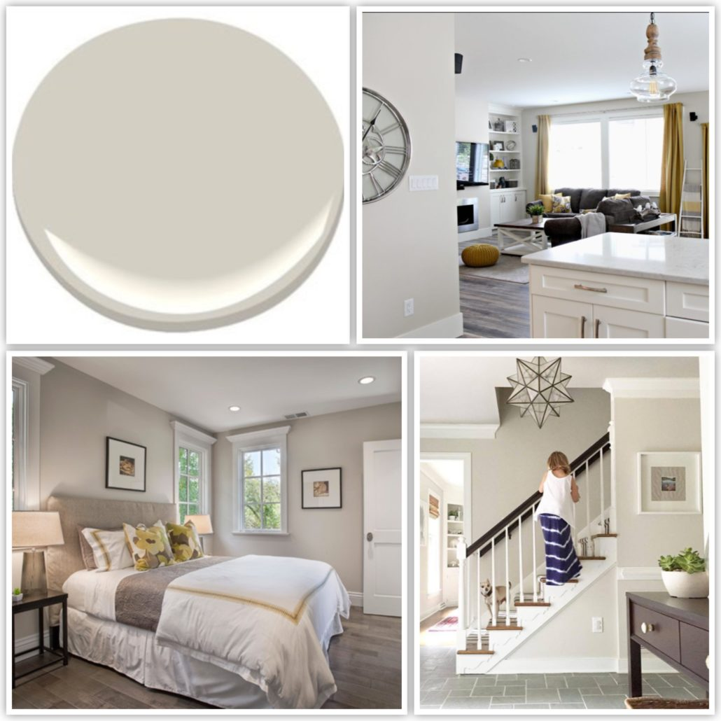 Benjamin Moore Paint Colour Edgecomb Gray
