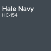 Benjamin Moore Paint Colour Hale Navy HC-154