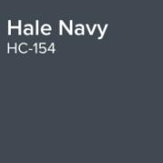 Benjamin Moore Paint Colour Hale Navy HC-154