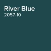 Benjamin Moore Paint Colour River Blue 2057-10