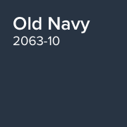 Benjamin Moore Paint Colour Old Navy 2063-10