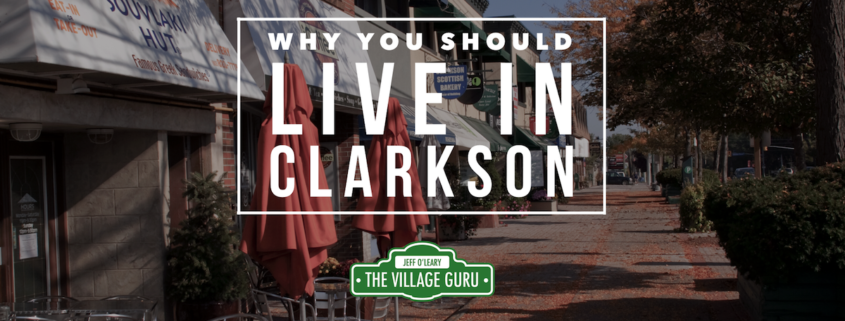 Whya you should live in clarkson mississauga