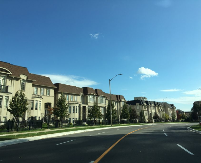 Shipp Place Town Houses in Mississauga City Centre