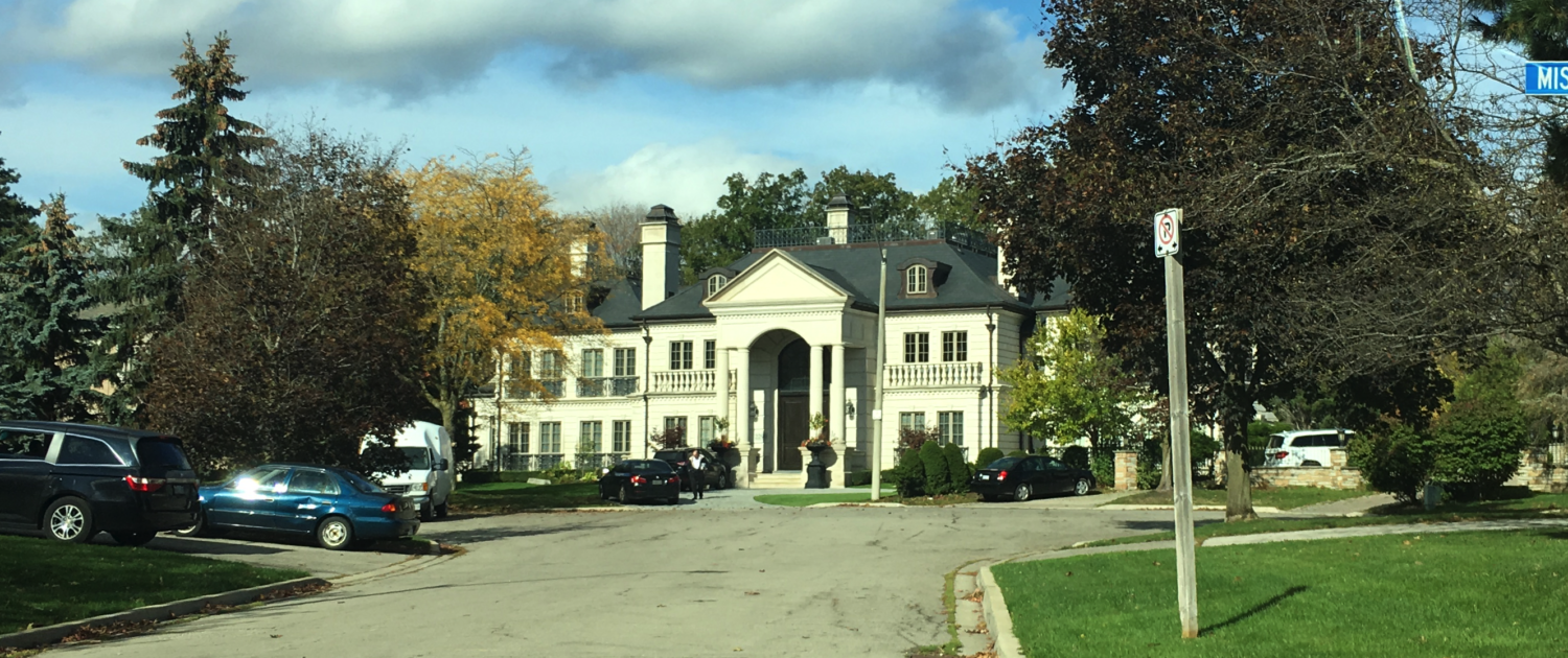 Most expensive homes in Mississauga are located in Sheridan