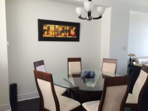 Dining Room Before Staging a New Home