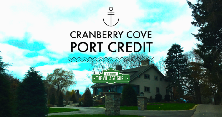 the neighbourhood of cranberry cove in port credit