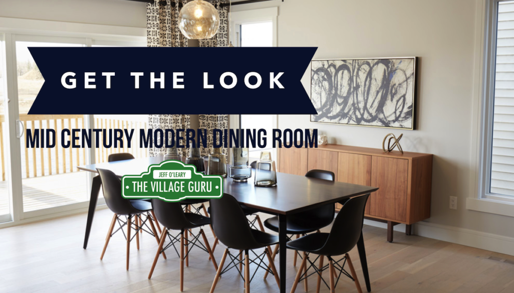 How To Decorate A Mid Century Modern Dining Room