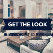 Decorating in monochromatic style