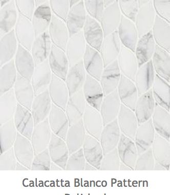 White Kitchens Calacatta Blanco Mosaic