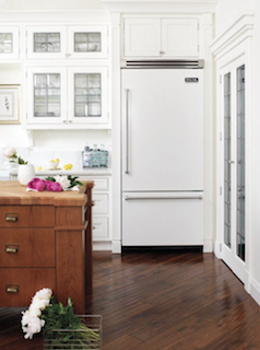 white kitchens concealed appliances