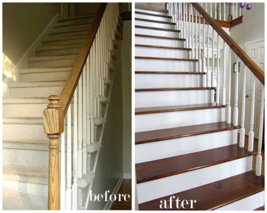 Buy a Big House remove carpet from stairs
