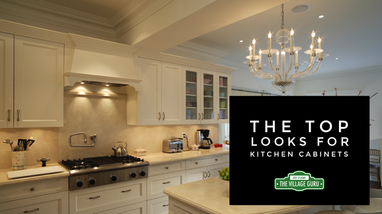 The top looks for kitchen cabinets