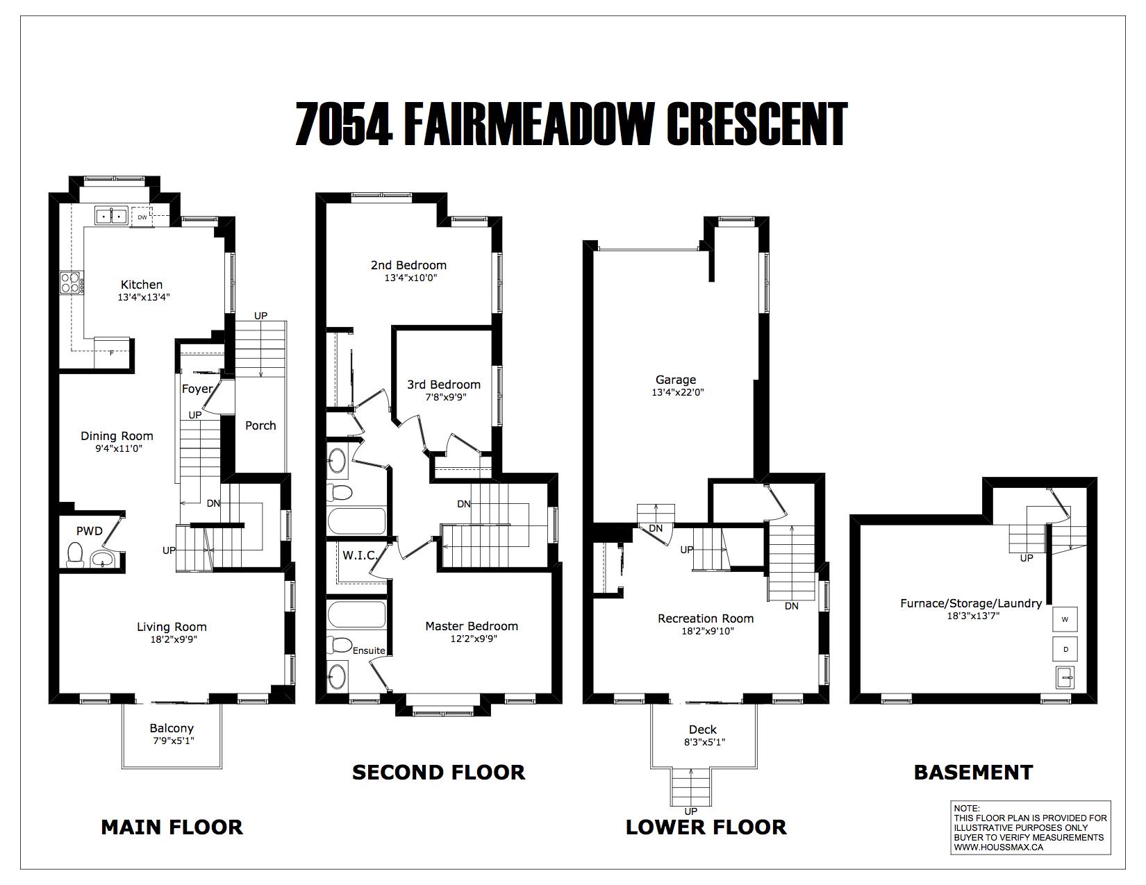 Fairmeadow Crescent Mississauga