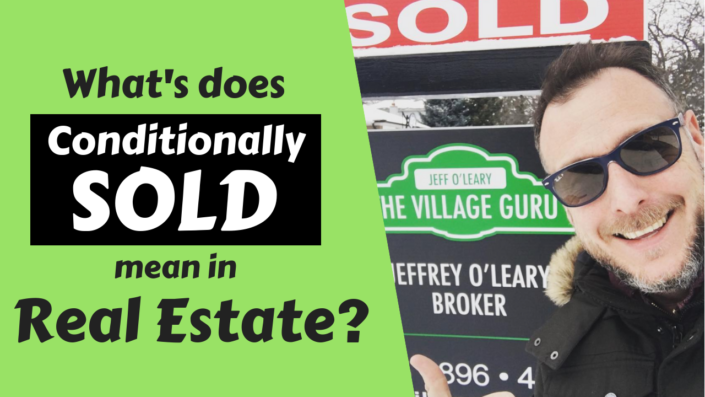 A video about the term sold conditionally in Mississauga Real Estate
