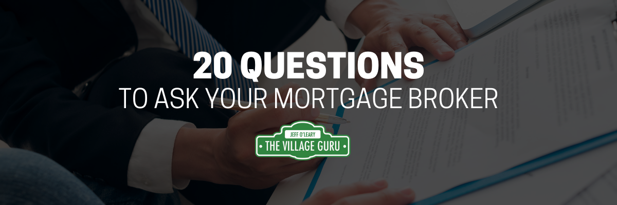20 mortgage questions to ask article