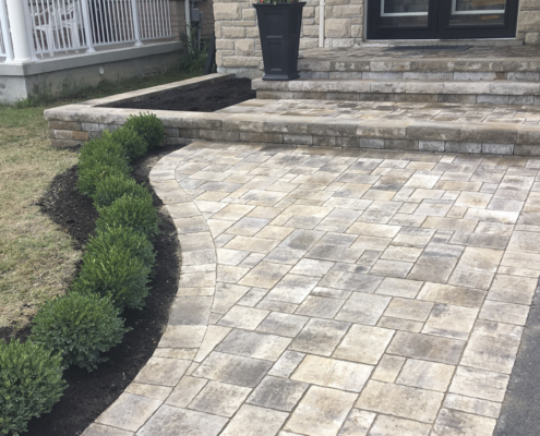 stone walkways add value to your home
